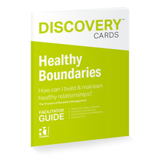 Healthy Boundaries Facilitator Guide