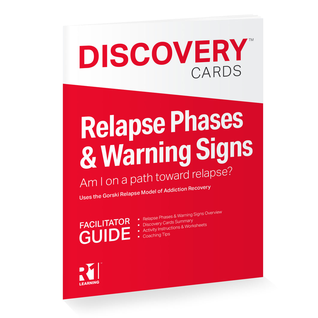 Relapse Phases & Warning Signs Facilitator Guide