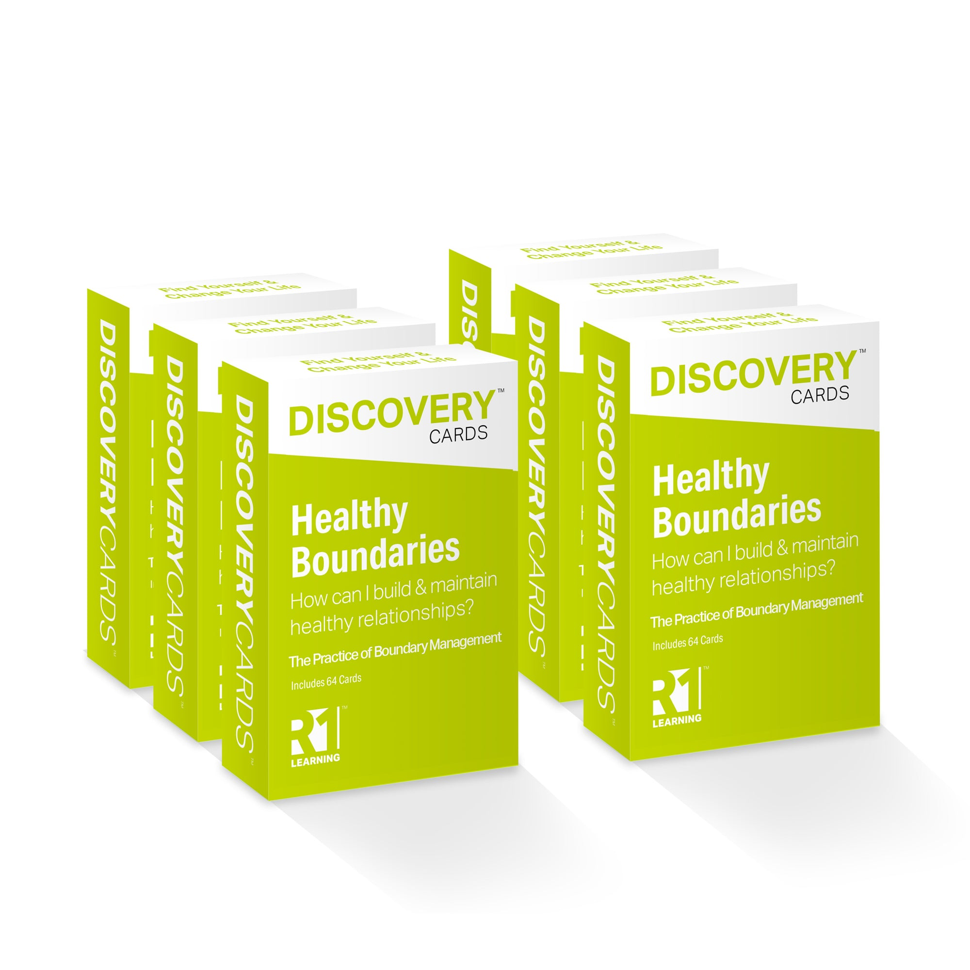 Healthy Boundaries Discovery Cards Value Pack — 6 decks