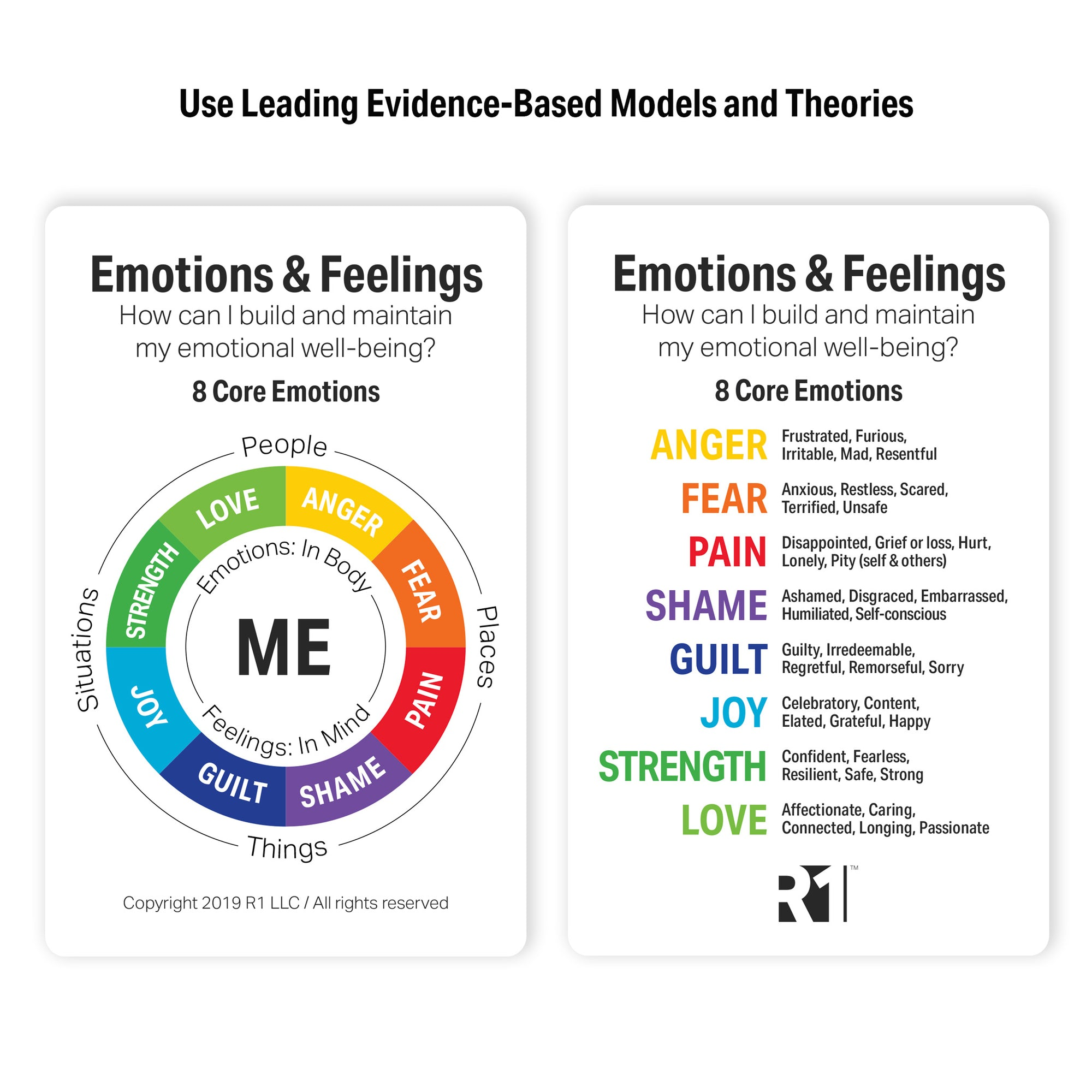 Emotions & Feelings Group Kit — 12 decks