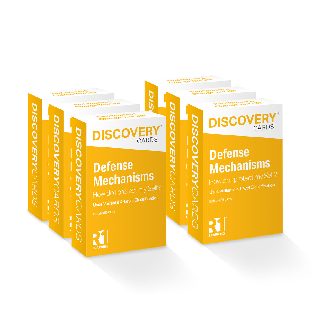 Defense Mechanisms Discovery Cards Value Pack — 6 decks