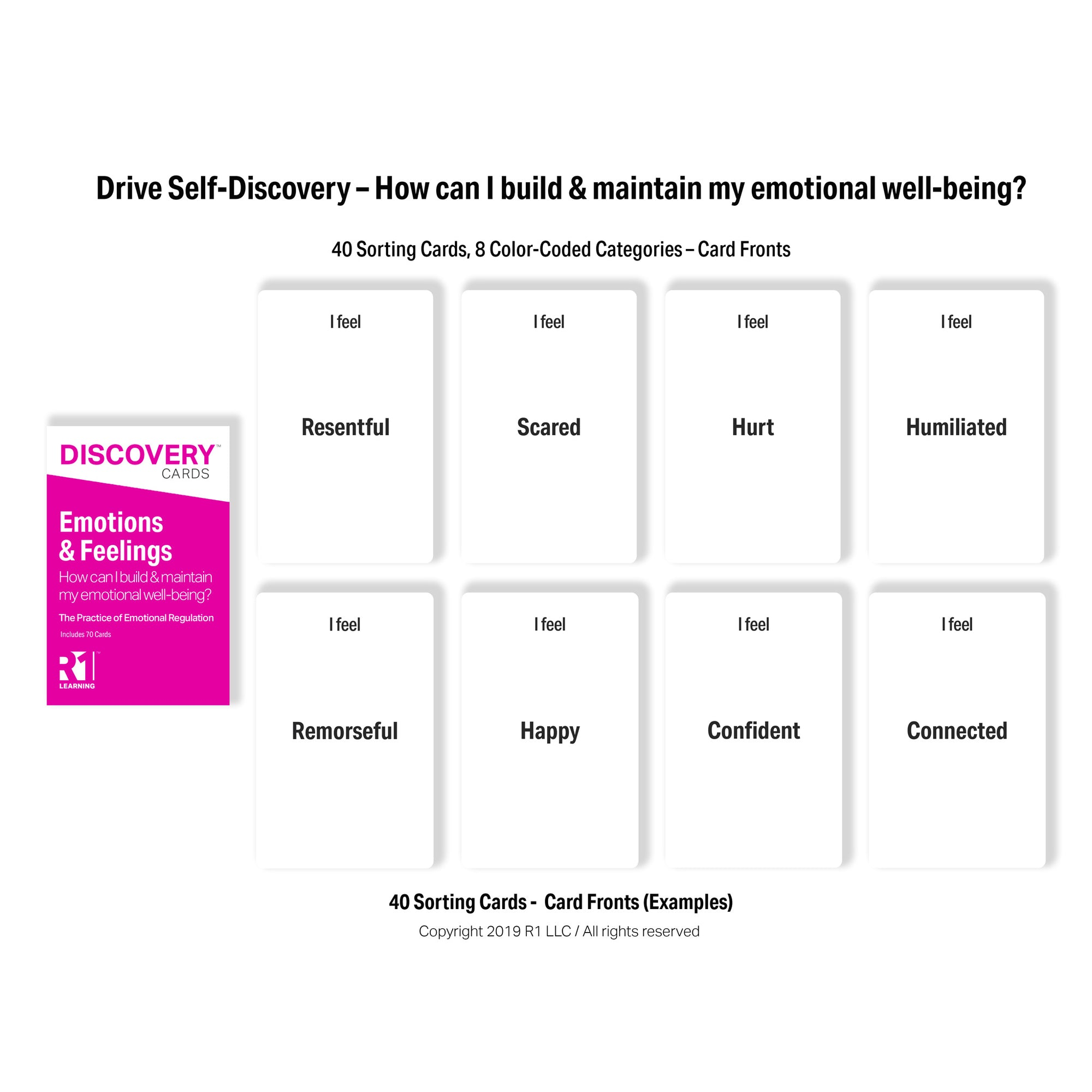Emotions & Feelings Discovery Cards Deck
