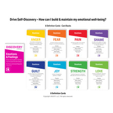 Emotions & Feelings Discovery Cards Deck / CCAPP Consumer Packet for CE