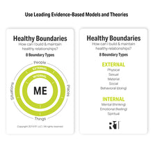 Healthy Boundaries Group Kit - 6 decks