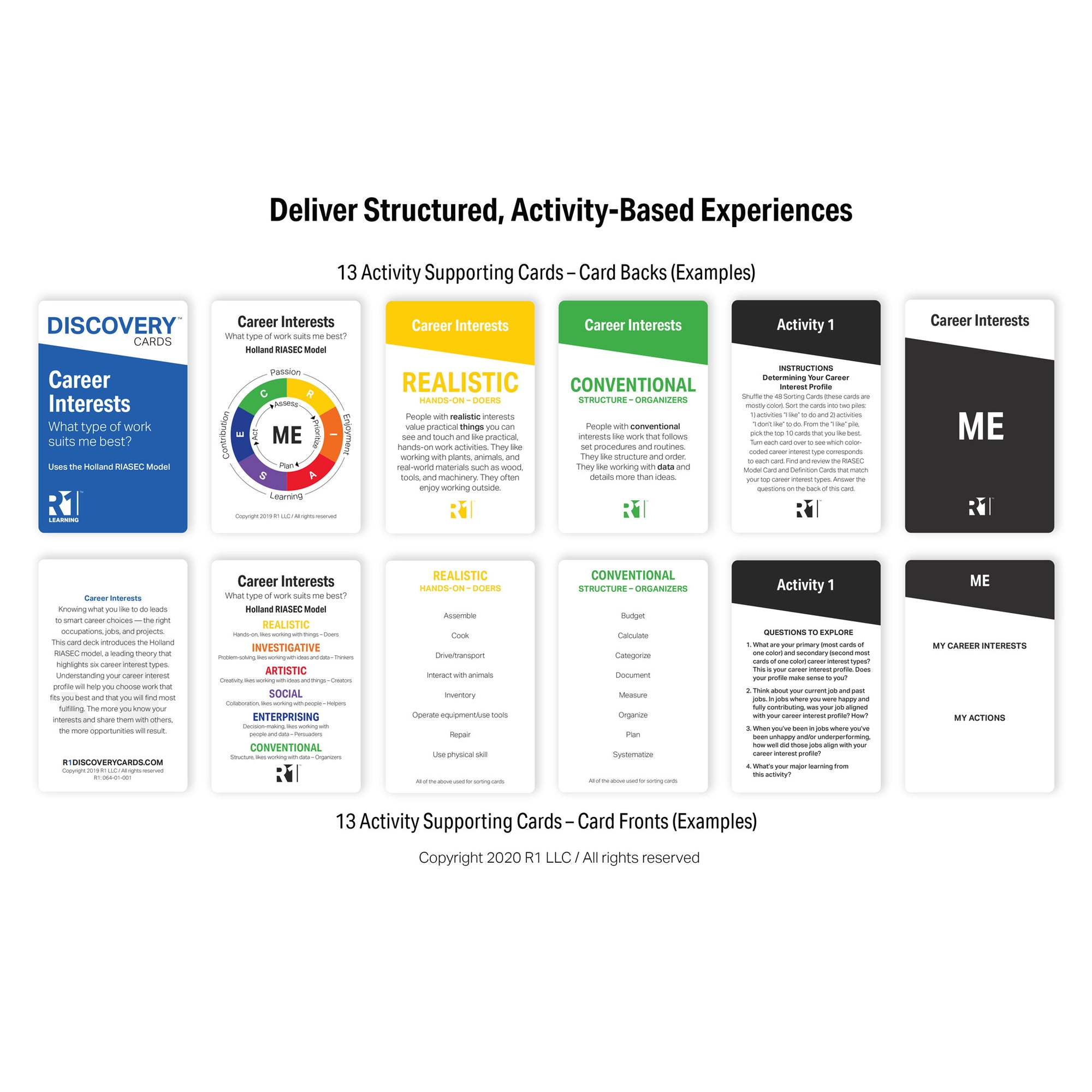 Career Interests Group Kit — 12 decks