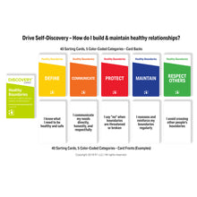 Healthy Boundaries Topic Kit — 1 deck