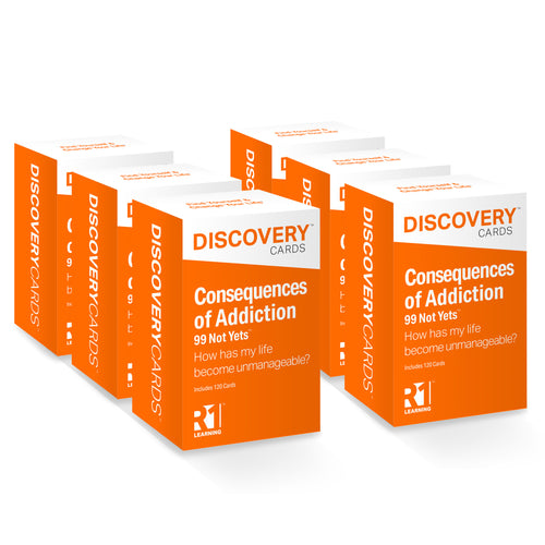 Consequences of Addiction Discovery Cards Value Pack — 6 decks