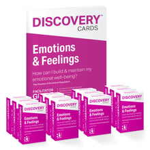 Emotions & Feelings Group Kit - 12 decks