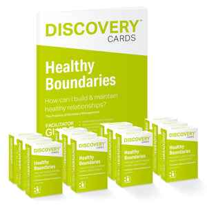 Healthy Boundaries Group Kit - 12 decks