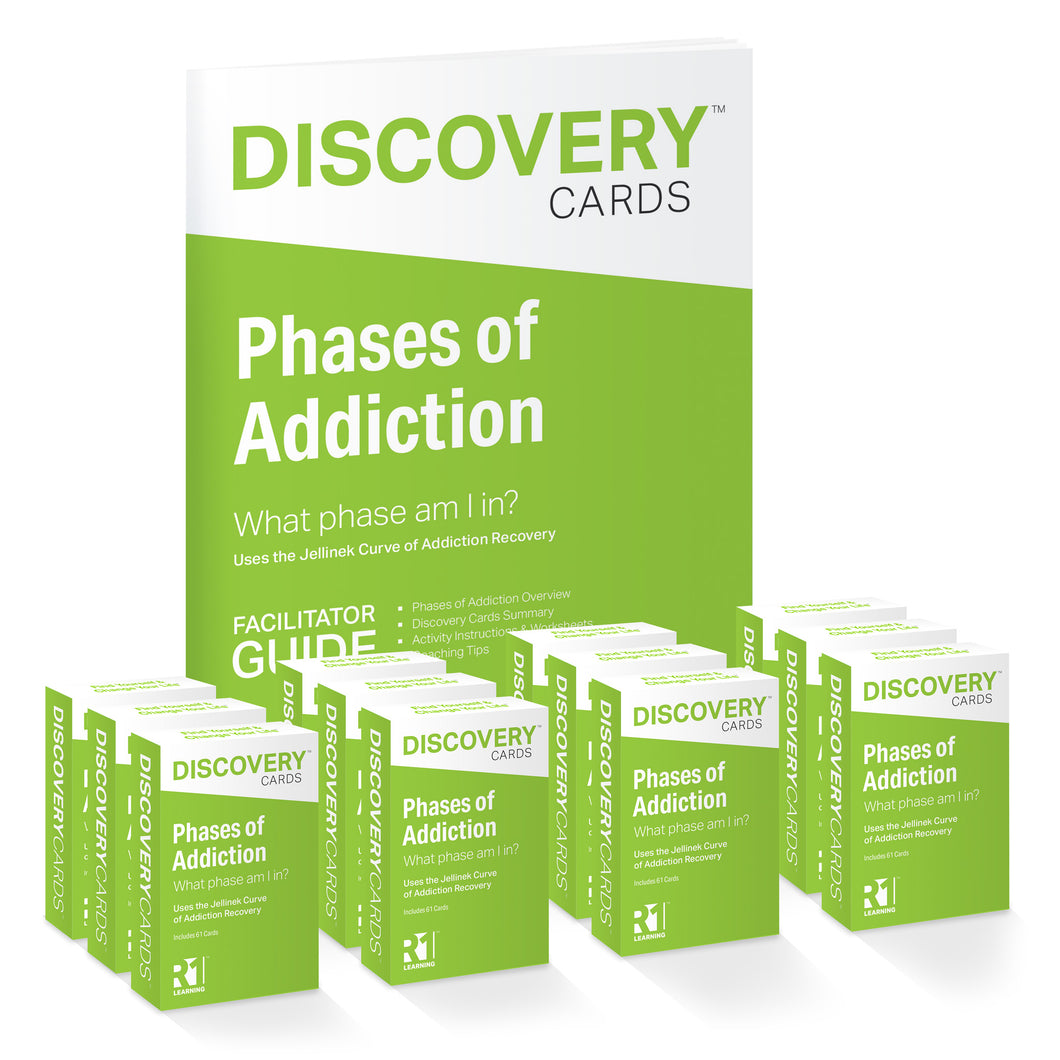 Phases of Addiction Group Kit — 12 decks