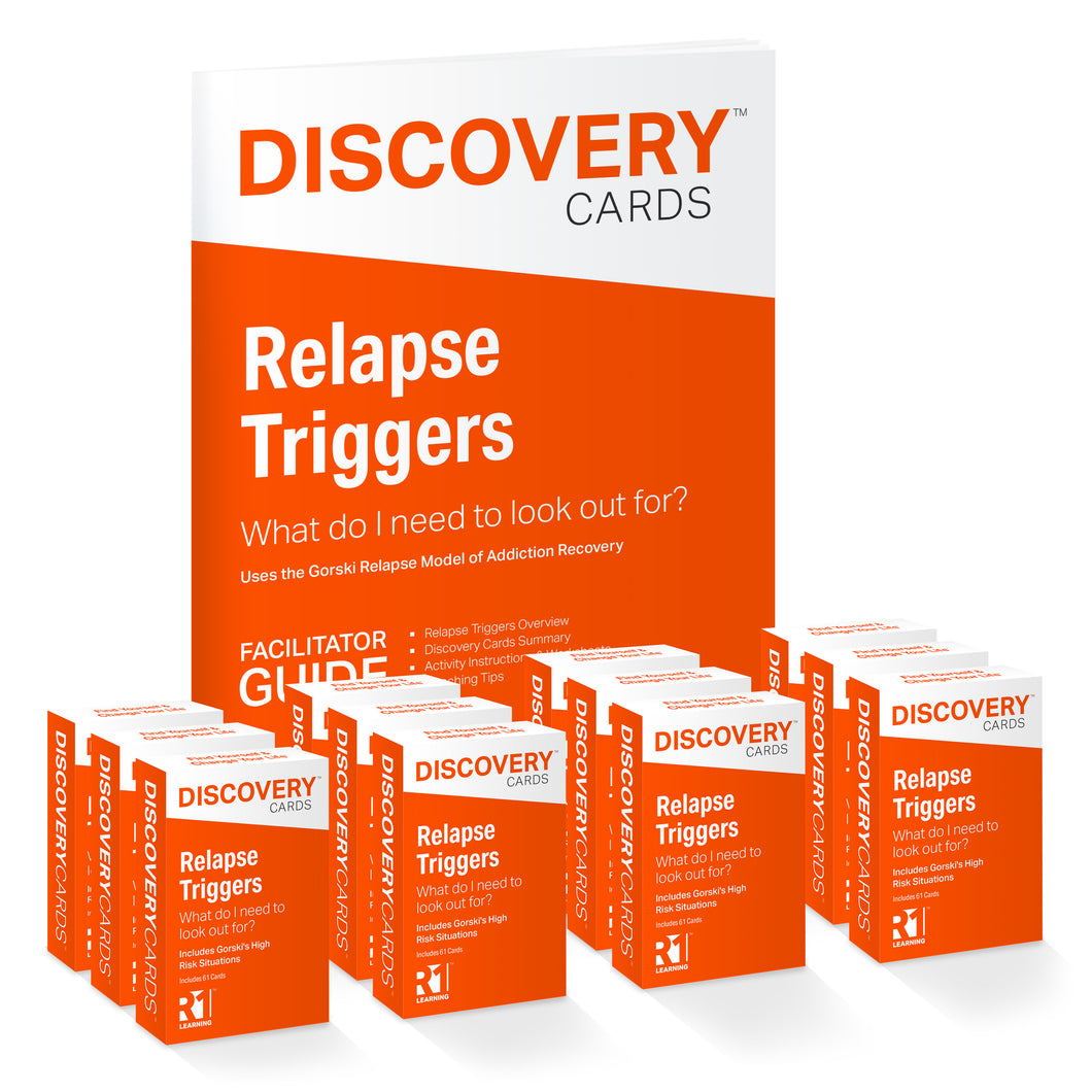 Relapse Triggers Group Kit — 12 decks