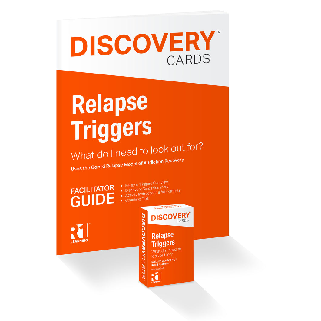 Relapse Triggers Topic Kit — 1 deck
