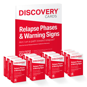 Relapse Phases & Warning Signs Group Kit — 12 decks