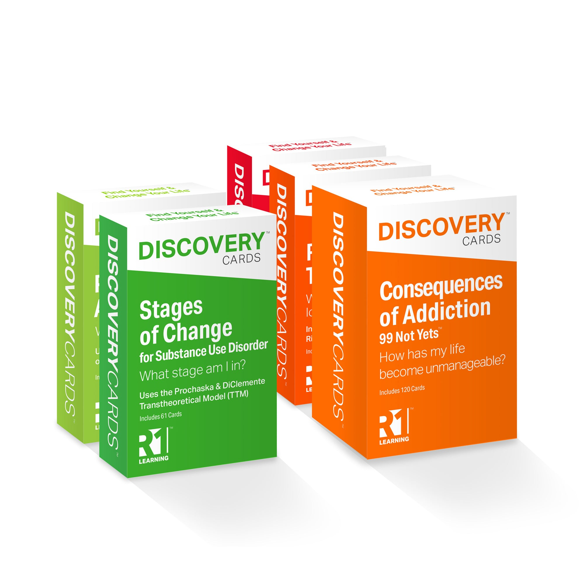 Discovery Cards Variety Pack - 5 Decks