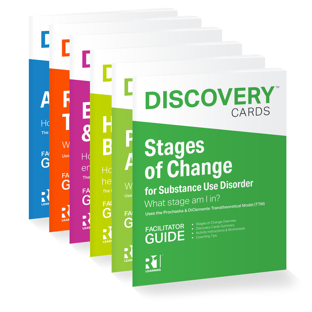 Recovery Coach Kit Facilitator Guides Bundle — 6 guides