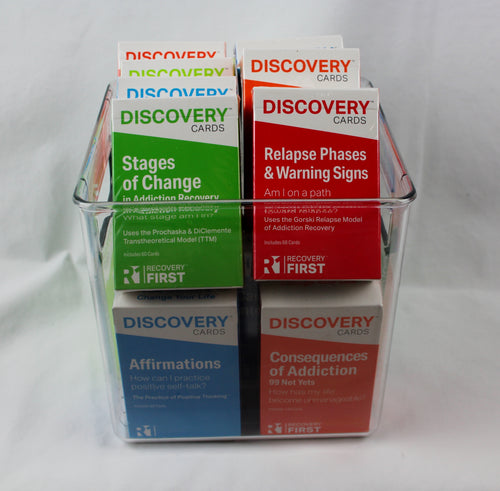 Discovery Cards Variety Bucket - 15 Decks