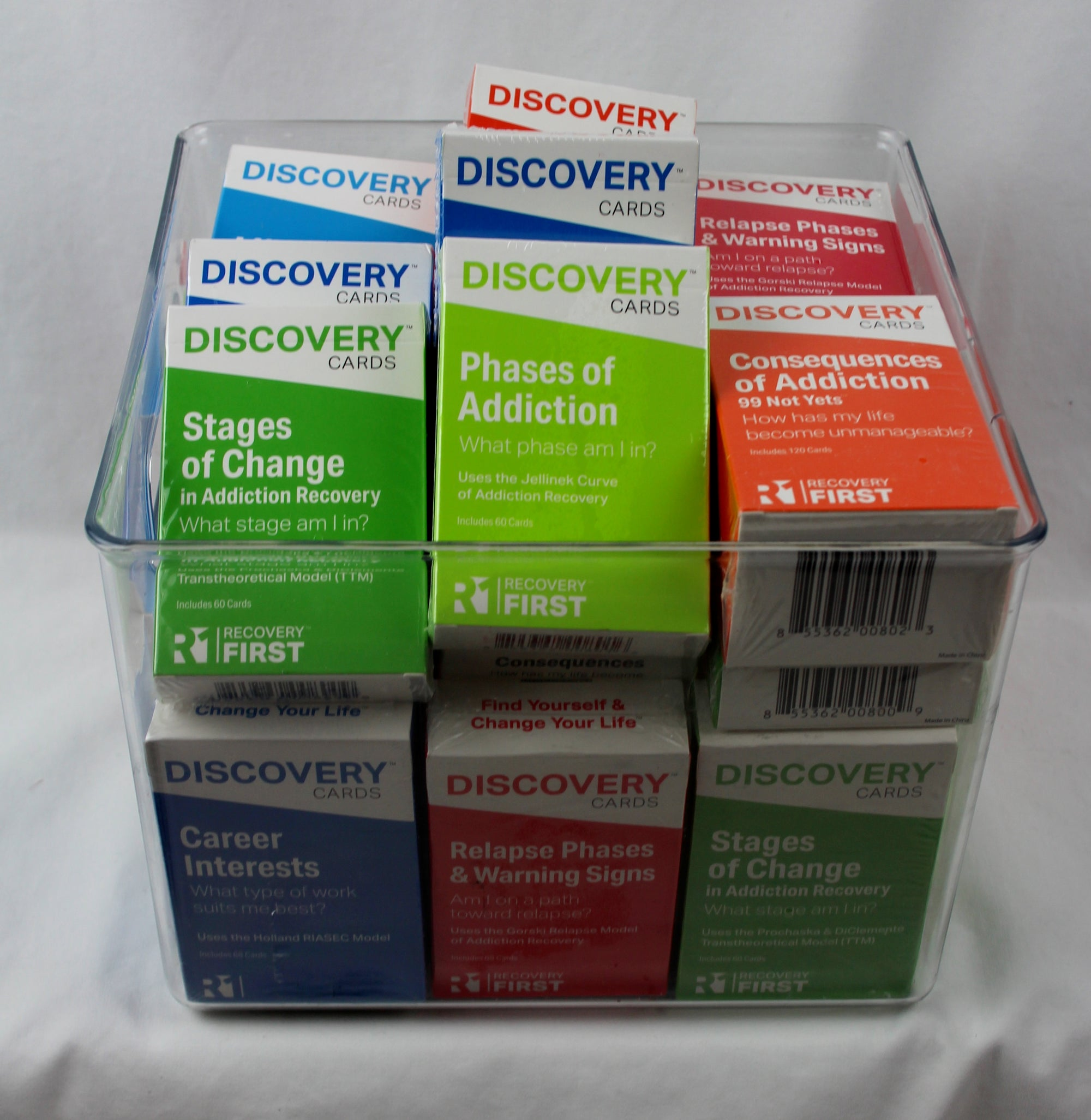 Discovery Cards Variety Bucket - 24 Decks