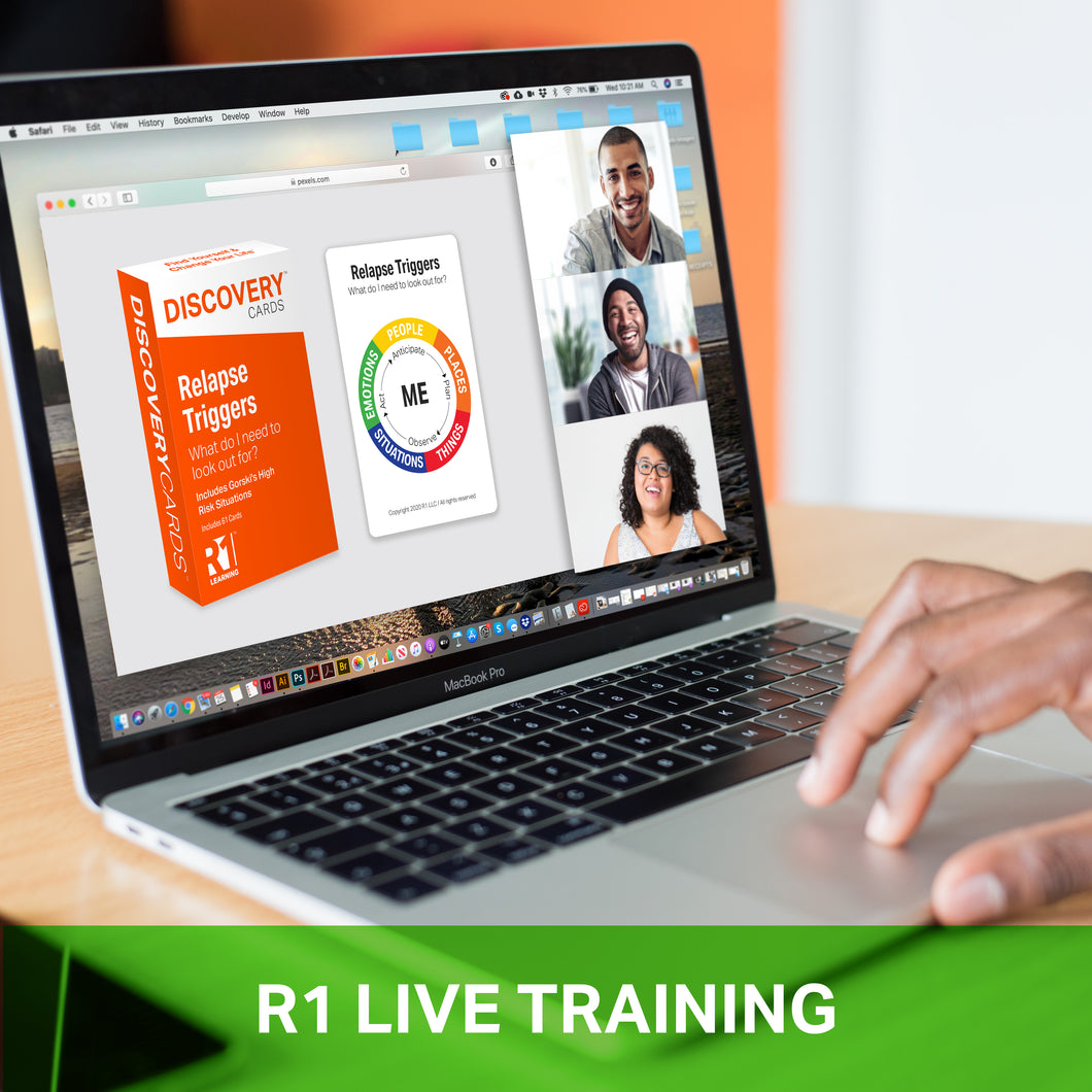 May 7, 1:00–2:30 pm US ET (90 minutes) — Relapse Triggers Virtual Training