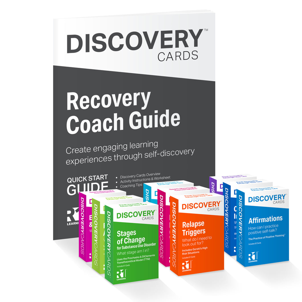 Recovery Coach Kit — 9 decks