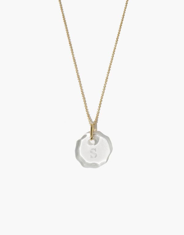 Messenger Necklace | Clear Engraving