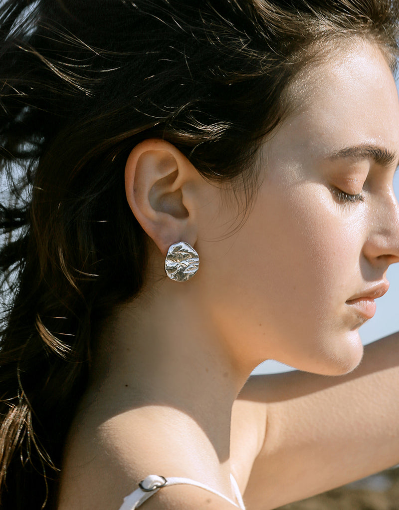 Coastline Earrings | Small Drop