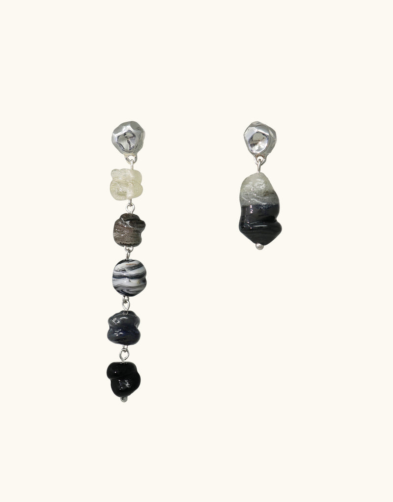 Shades of Nature | Basalt Earrings