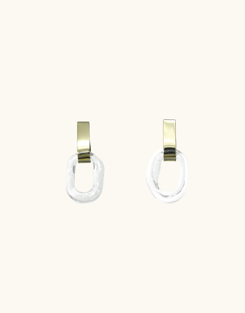 Minimal Loop Earrings