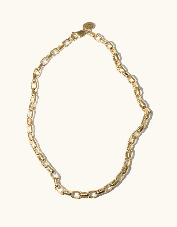Climbing Chain Necklace