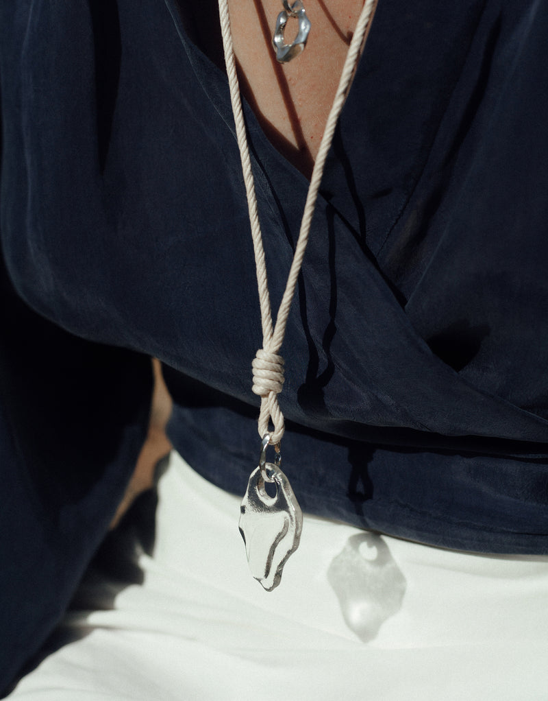 Rope Knotted Necklace