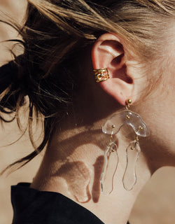 Rock Dangling Earrings