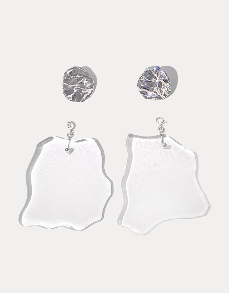 Coastline Earrings | Large Drop