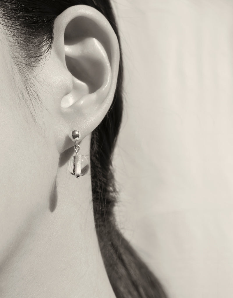 Minimal Ball Earrings | Small