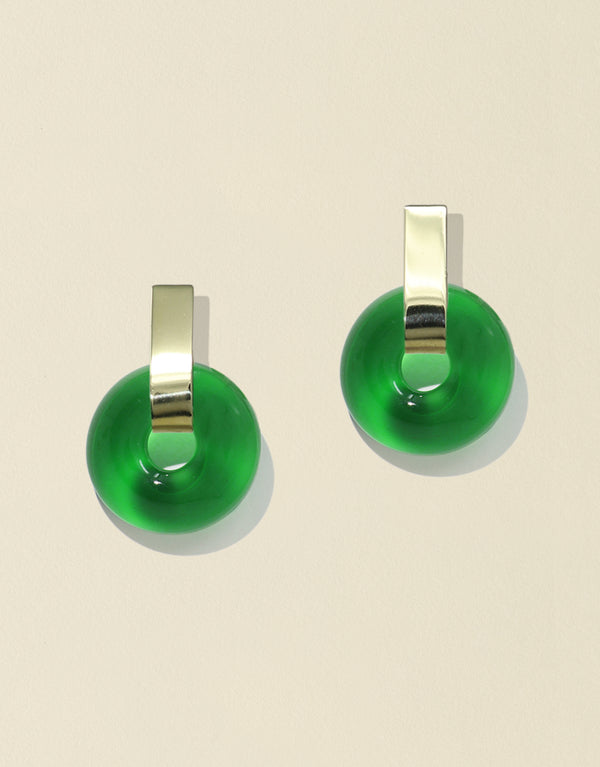 Minimal Torus Earrings