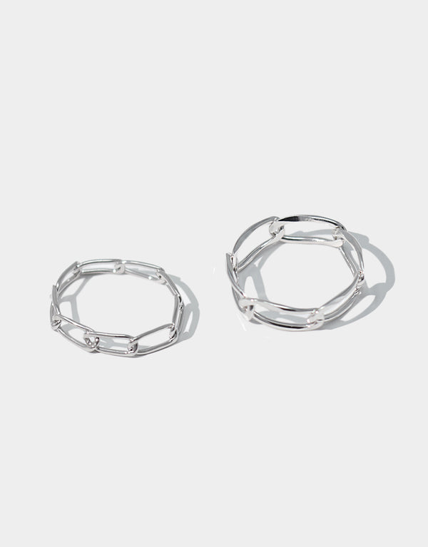 Curved Chain Rings