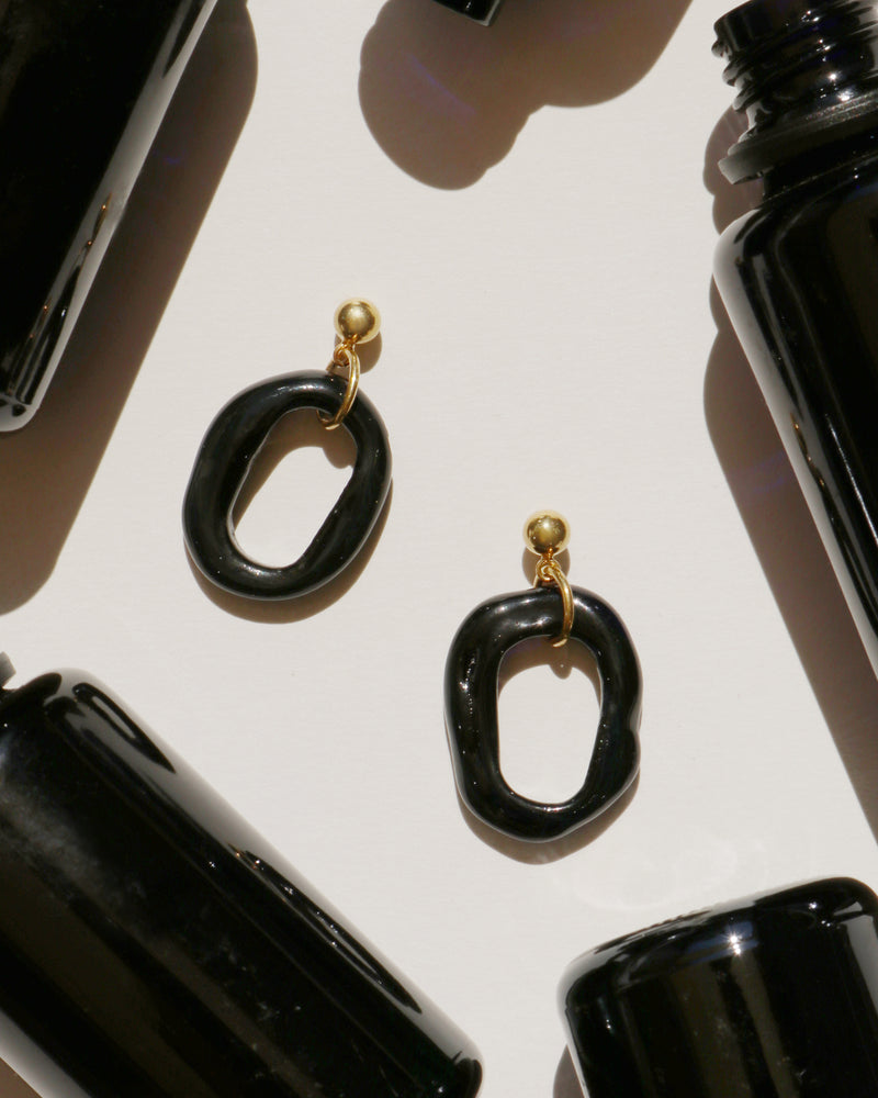 The Black Sea Earrings (Limited Edition)