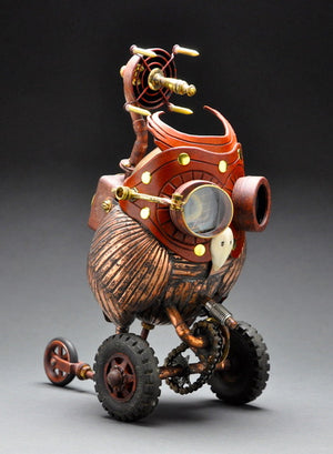 Steampunk Sculptures by John Belli