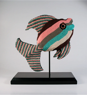 Beautiful Beaded Fishes by Lisa Yerby