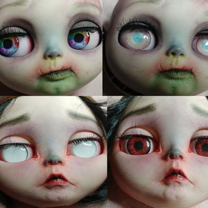 Creepy Blythe Doll Eyes - Perfect Fit Eye Chips