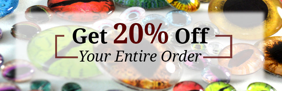 Get 20% Off Your Entire Order