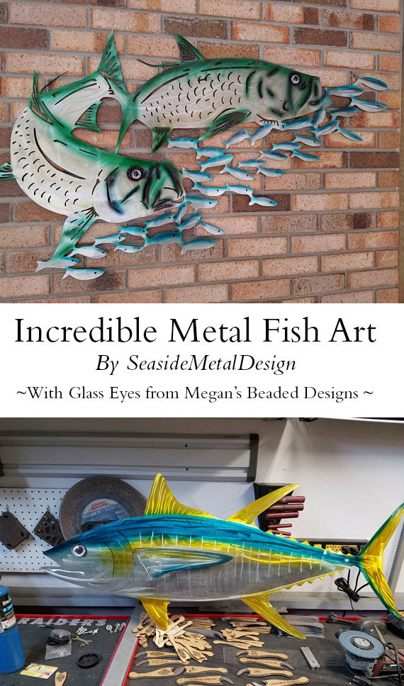 incredible metal fish art