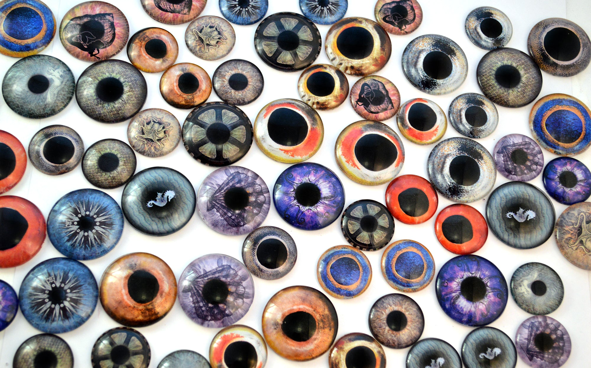nautical glass eyes