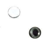 10mm dark gray cat eyes