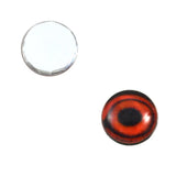 10mm glass duck eyes