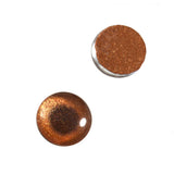 10mm bronze metallic glass eyes