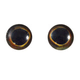 10mm dark glass fish eyes