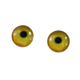10mm flamingo glass eyes