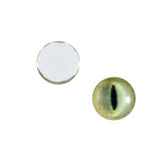 10mm pale yellow cat eyes