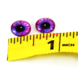 10mm Blue and Pink Steampunk Glass Eyes