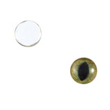 10mm realistic green and brown cat eyes