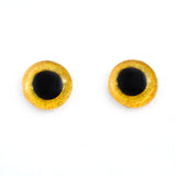 Yellow Owl Glass Eyes